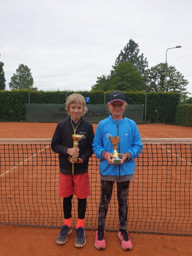 V baby tenise kralovali Fejka a Mottlová