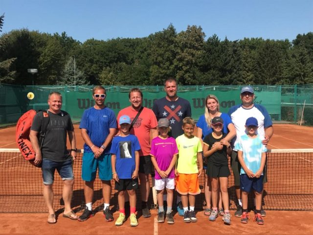 Družstvo baby tenisu páté na MČR